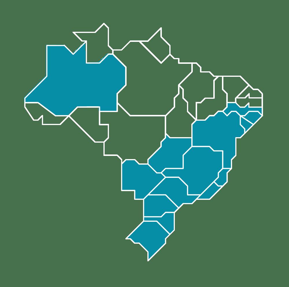 Lojas pelo Brasil